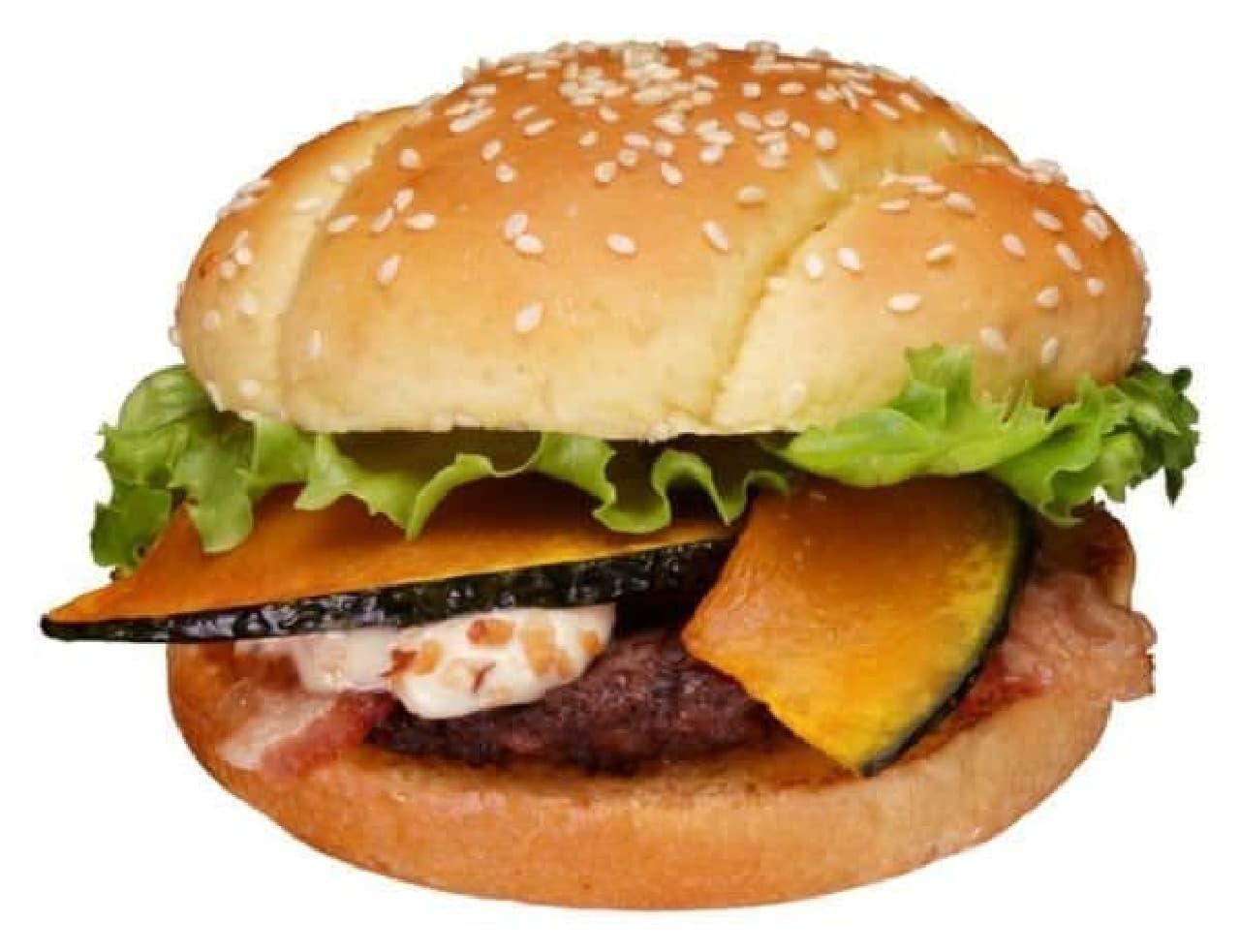 「BK パンプキン」  ハロウィンにぴったりのハンバーガー