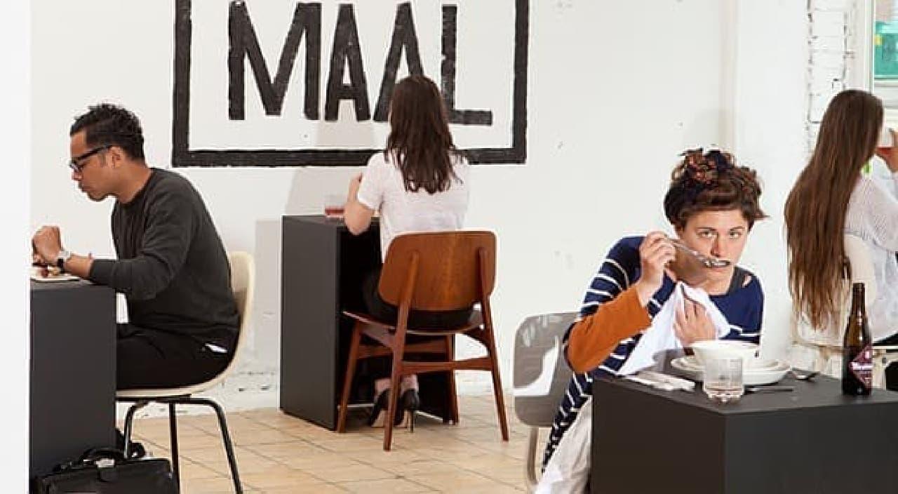 """""""世界初のお一人様専用レストラン""""を謳うレストラン「Eenmaal」"""