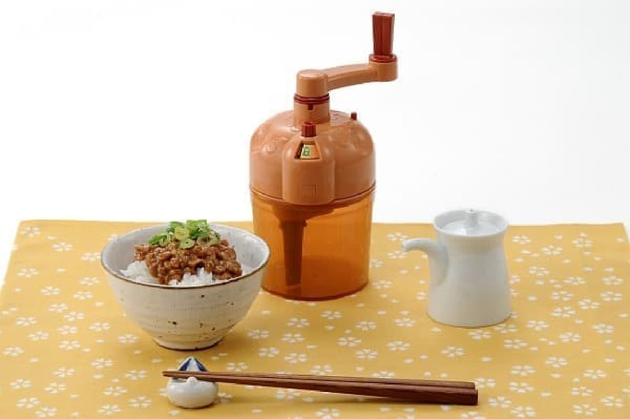 """""""納豆のコク製造マシン""""「食の極み『魯山人納豆鉢』」"""