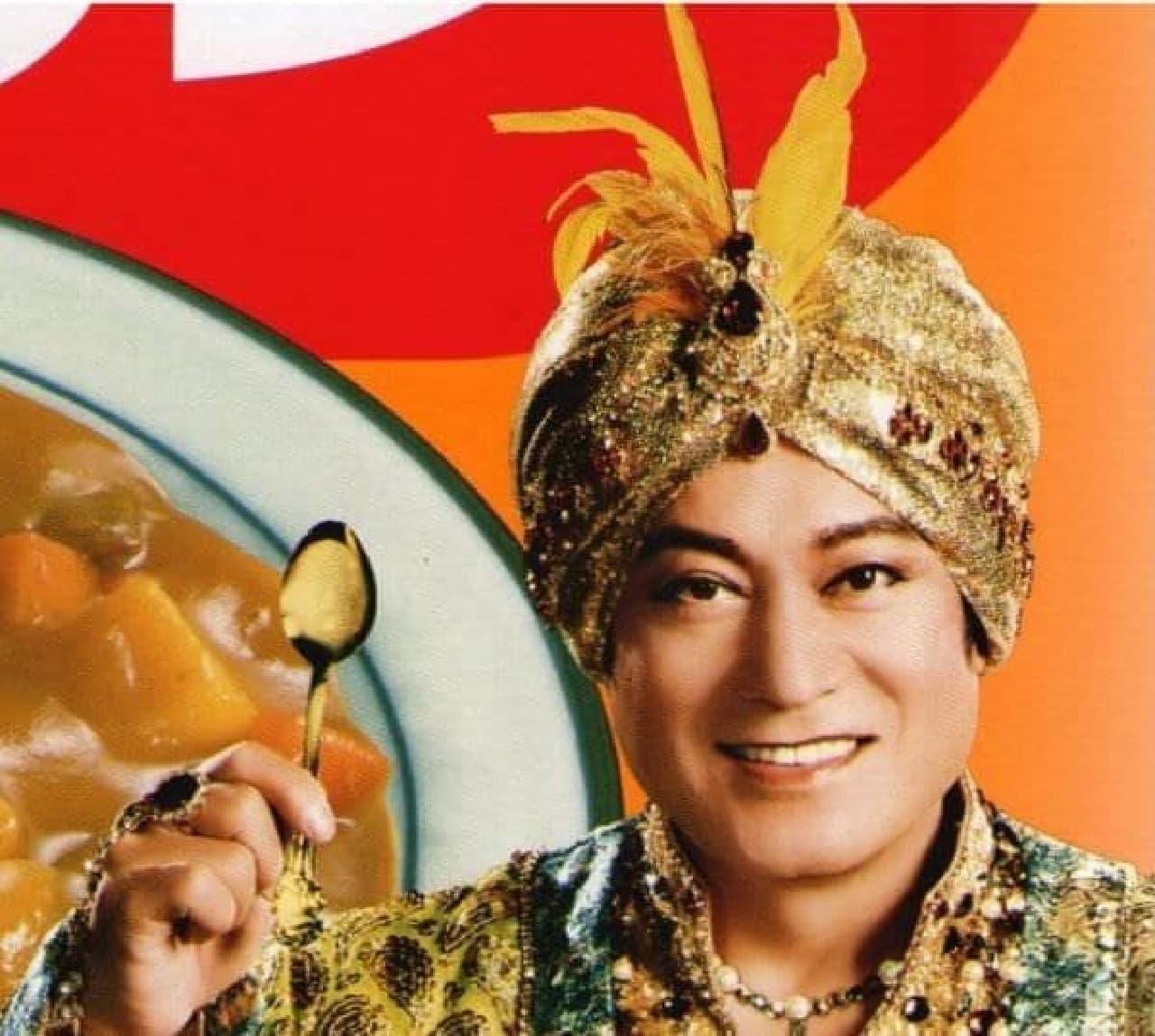 インドの王様にしか見えないこの笑み!