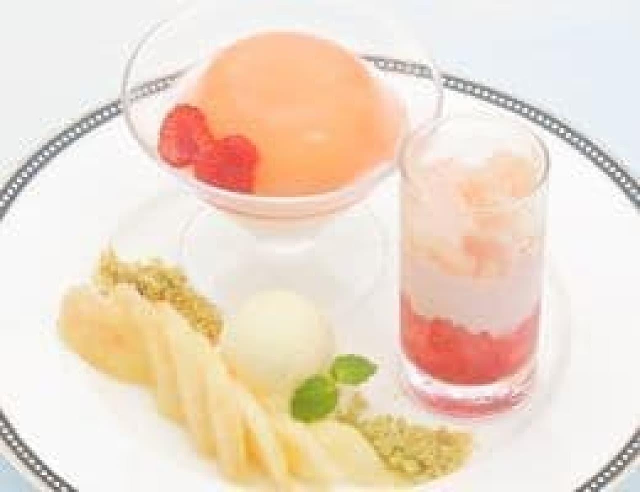 コージーコーナー銀座一丁目本店、8月の限定デザートは山梨の白桃スイーツ!