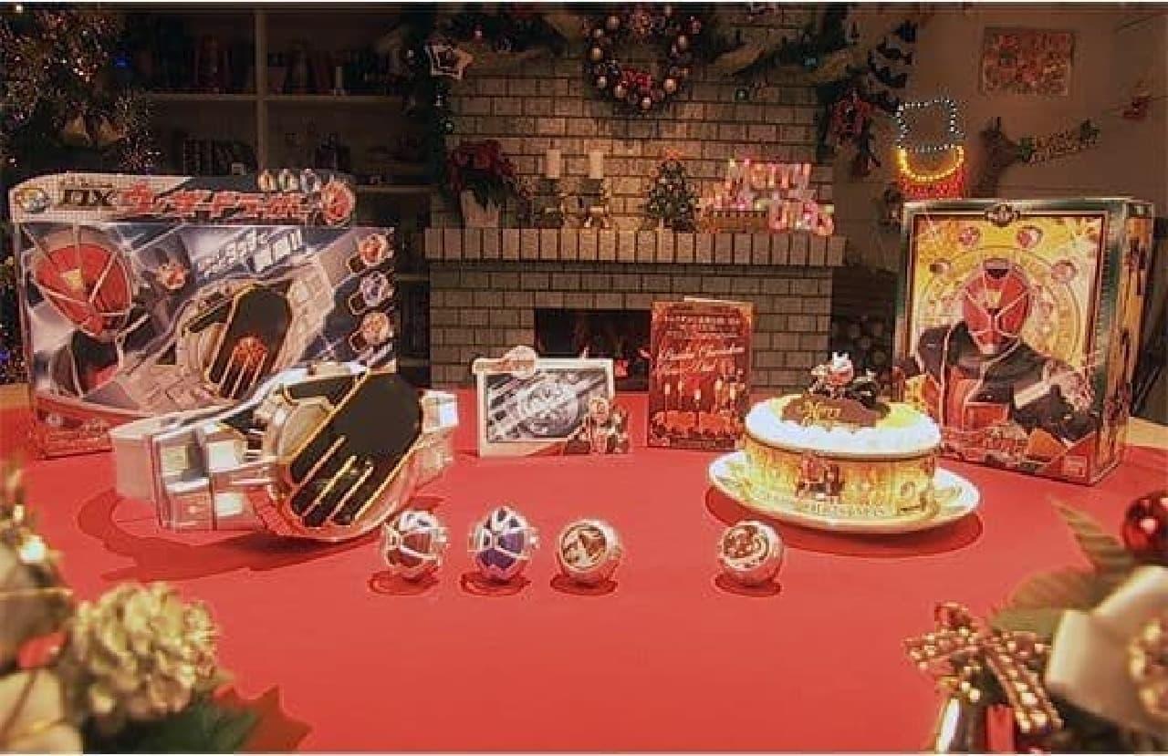 ケーキに変身ベルトが付いてくる「仮面ライダーウィザード クリスマススペシャルセット」