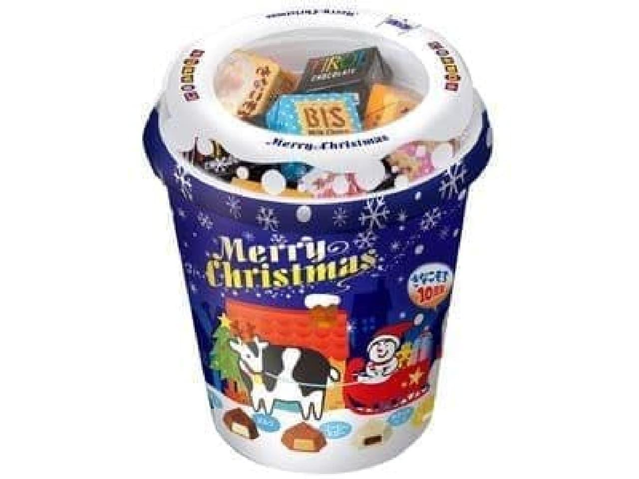 みんな大好ききなこもちも入ってるよ「クリスマスチョコレート」