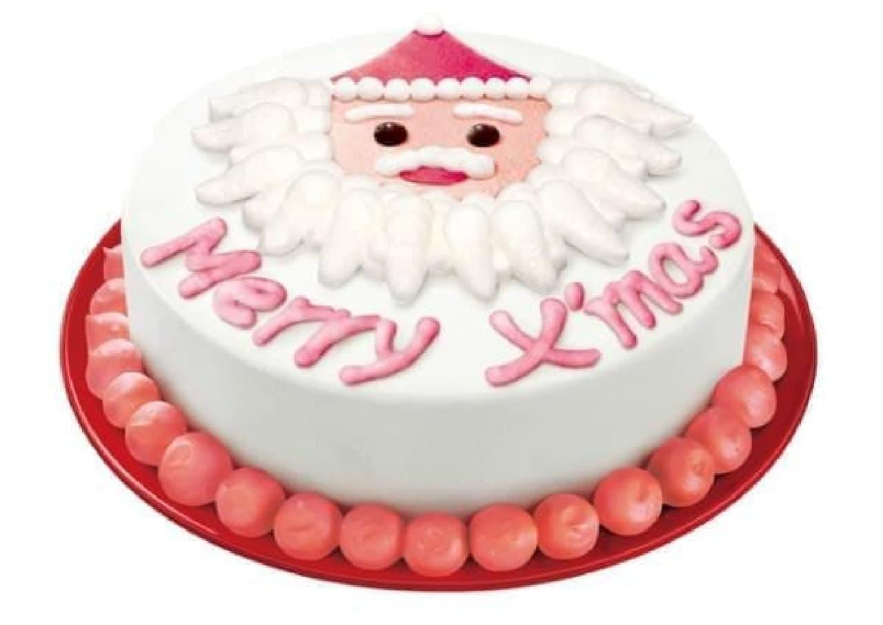こんなにかわいい!クリスマス・アイスクリームケーキ