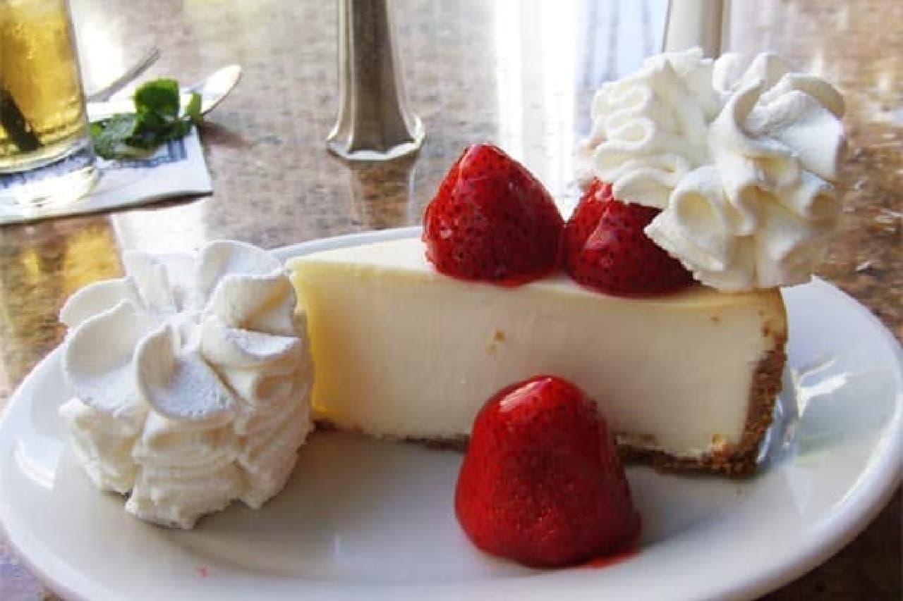 1位に輝いた ハワイ・ホノルルの「チーズケーキファクトリー」