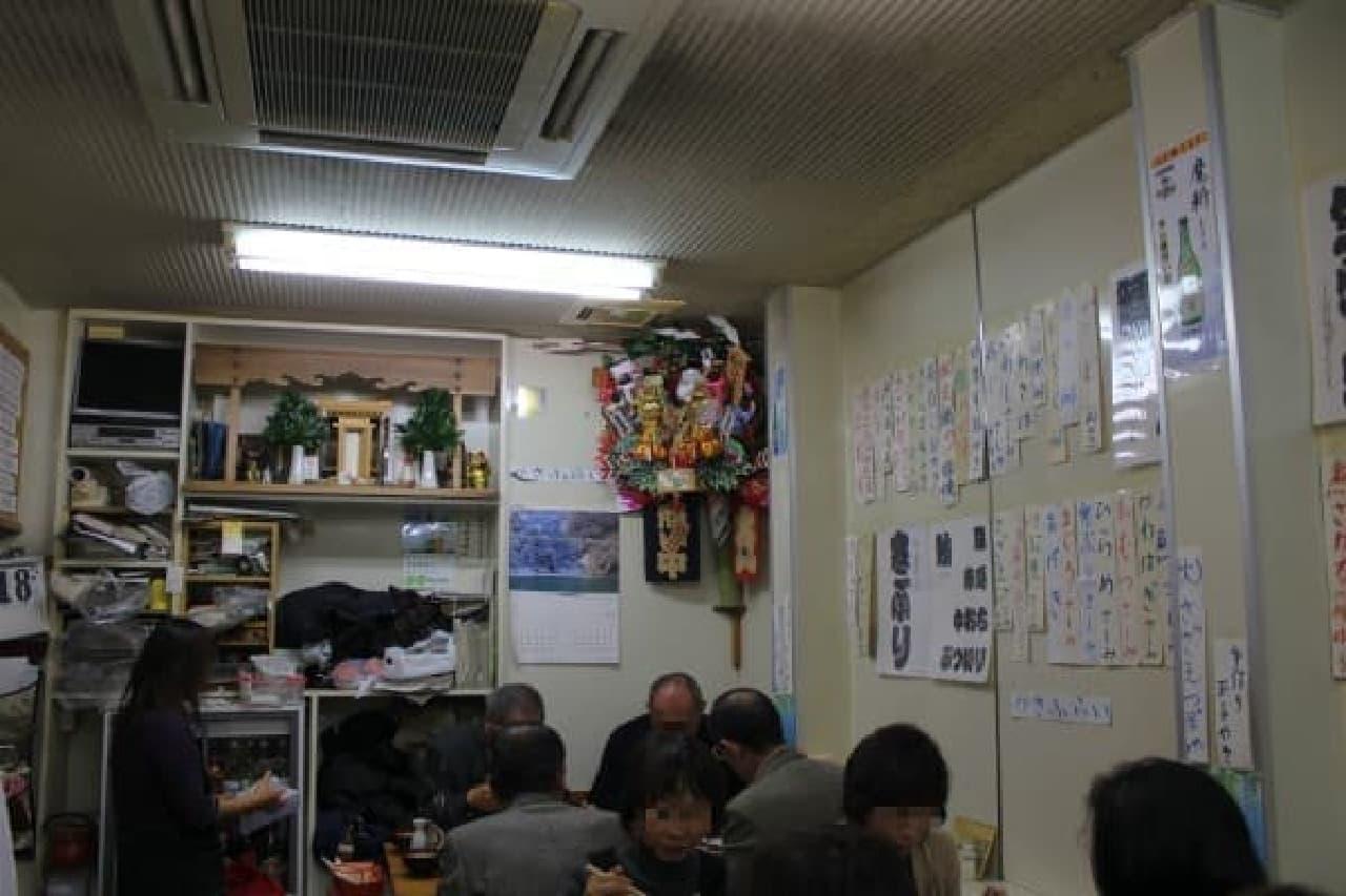 ザ・昭和食堂って感じです