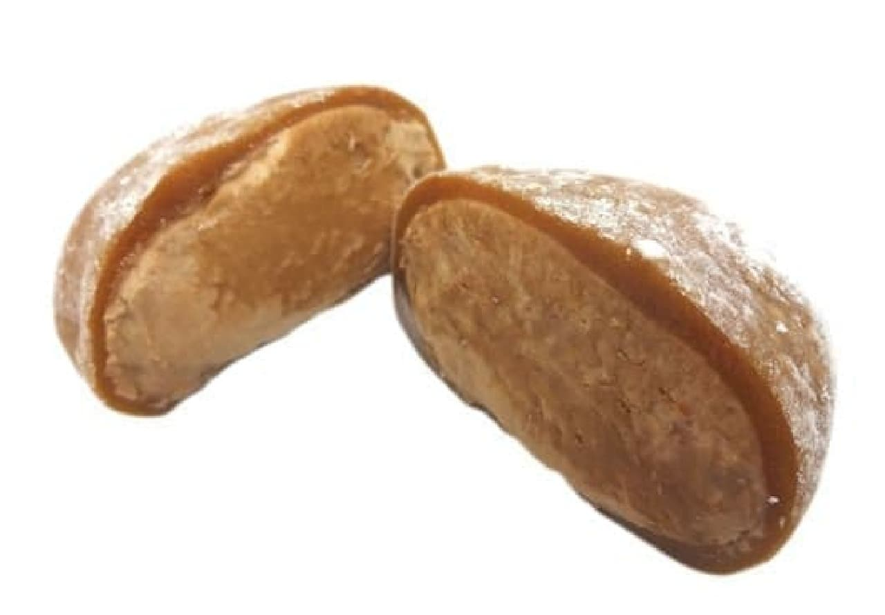 今年の新商品「ガーナクリーミーチョコ大福」