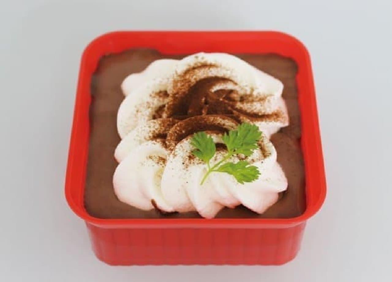 昨年も発売され好評だったという「ガーナ冬のとろけるショコラケーキ」  …おいしそう