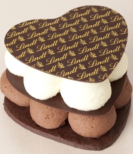 ハート型のスペシャルケーキ「クール・デュ・ショコラ」