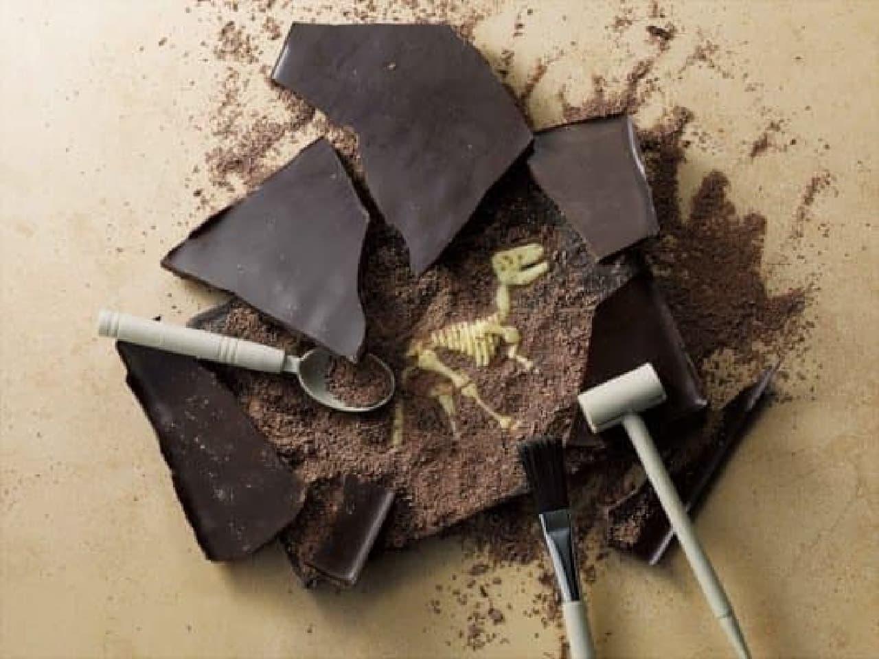 """チョコレートで""""化石発掘""""ができちゃう!?"""