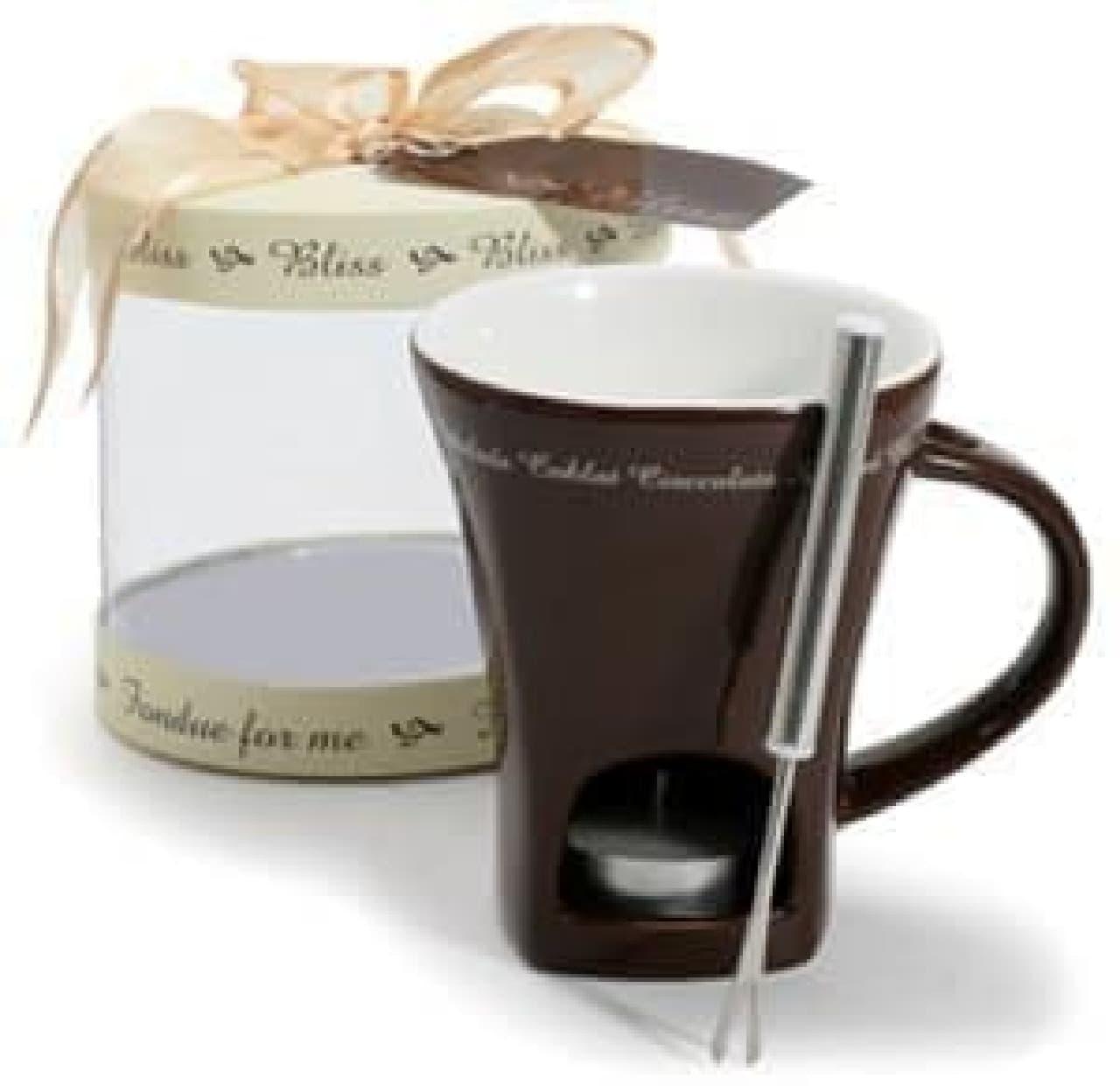 Danesco Bliss Chocolate Fondue Mug  バレンタインの贈り物として利用されることが多いそうです