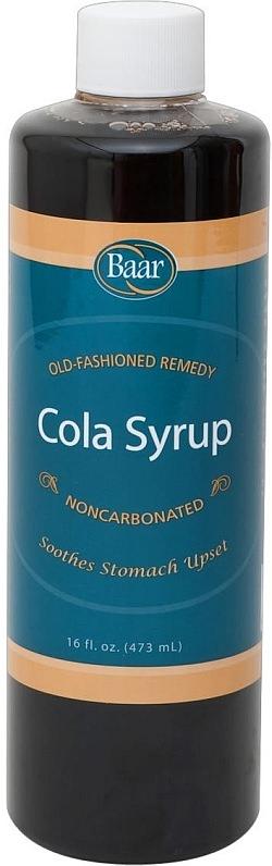 こちらは胃の痛みに効くという「Cola Syrup」  残念ながらこれも日本から購入することはできません
