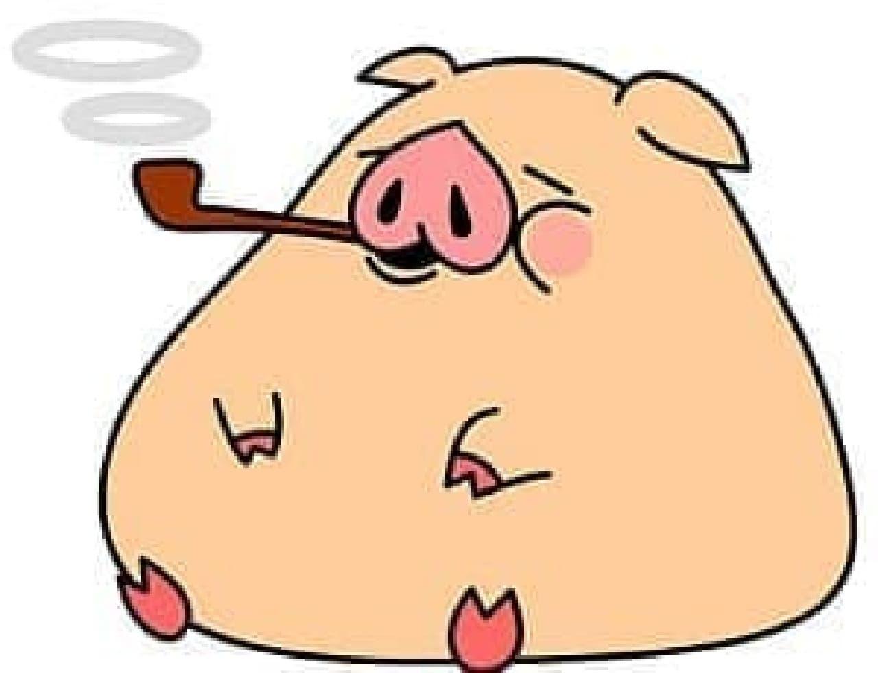 豚はマリファナを吸引したわけではない