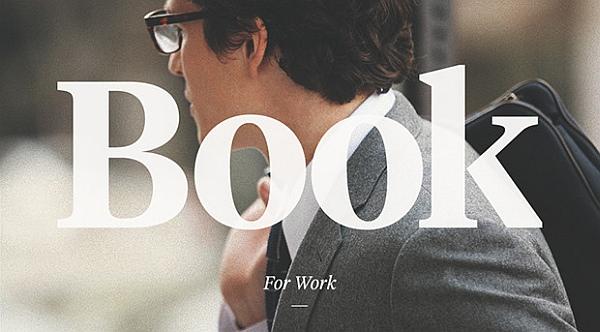 「Book」は、働くビジネスマン向け