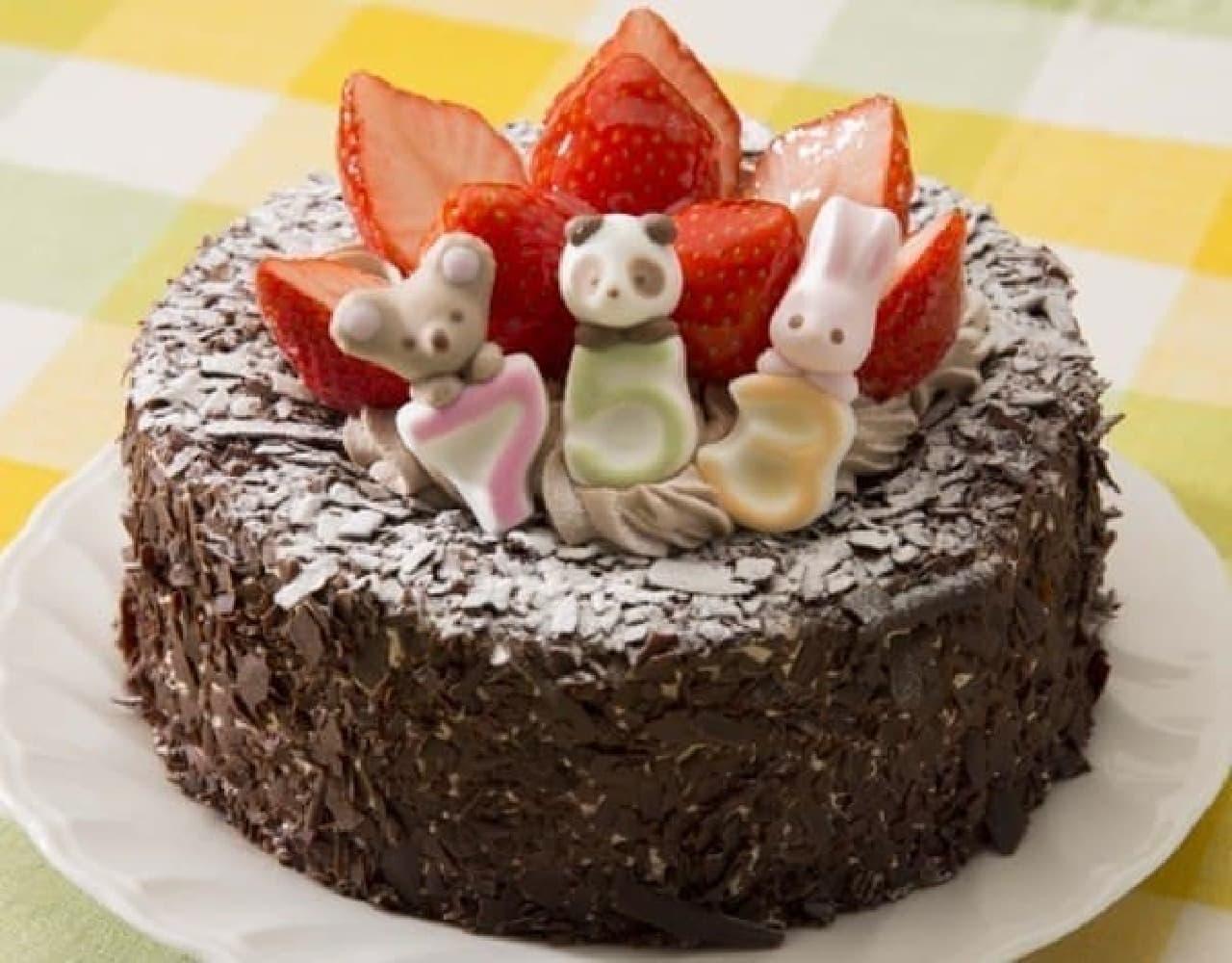 みんな大好き!チョコレートづくしのケーキ