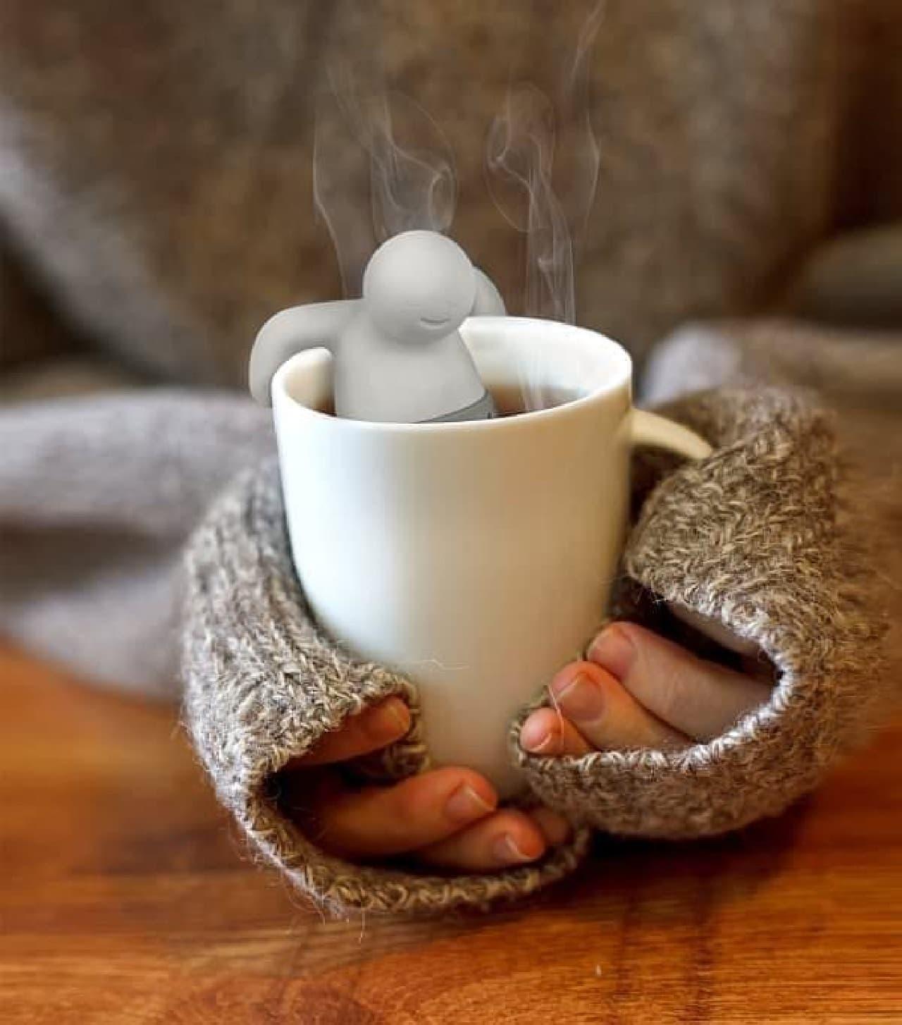 「Mister Tea Infuser」  なんだか、ほっこり