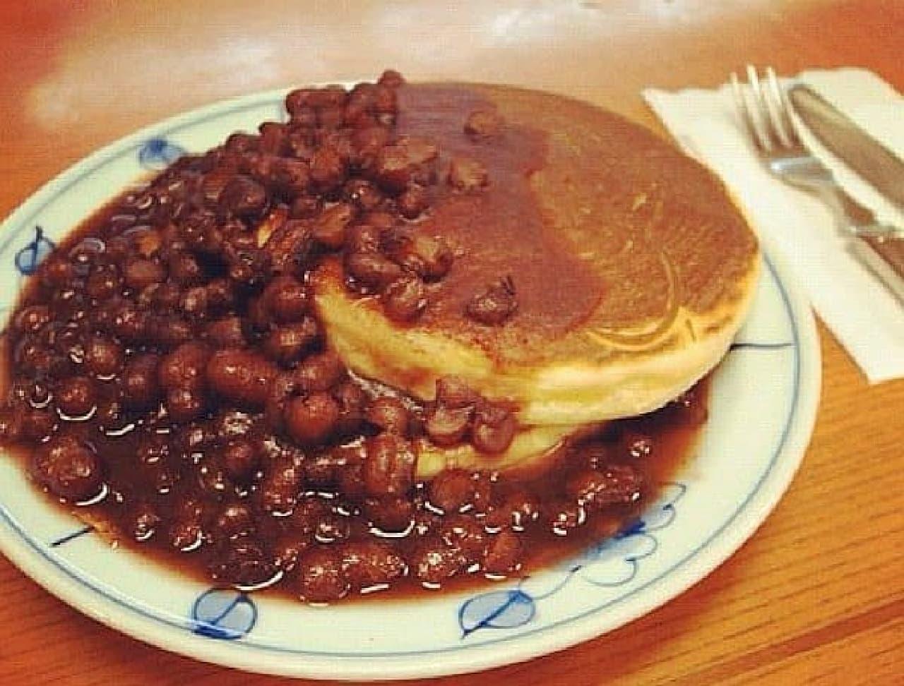 阿佐ヶ谷「とらや椿山(ちんざん)」のホットケーキ