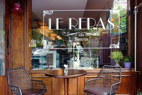 レストラン「Le Repas」外観