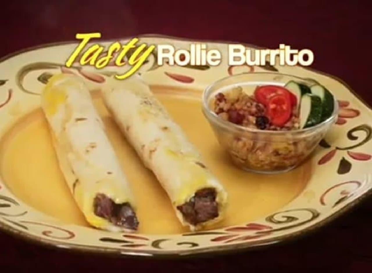 Rollie を利用して調理したブリトー