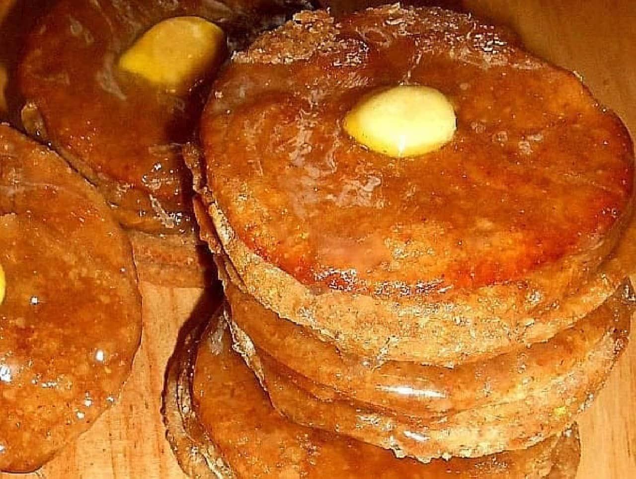 犬用のパンケーキ「Gourmet Dog Treats -2 Stacks of Dog Pantcakes」
