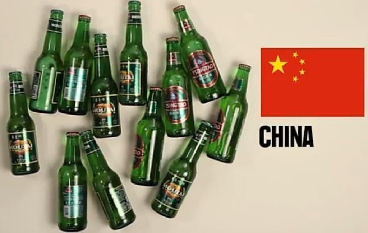 中国は12本 飲み放題?