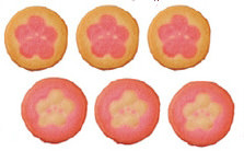 花をデザインしたクッキー