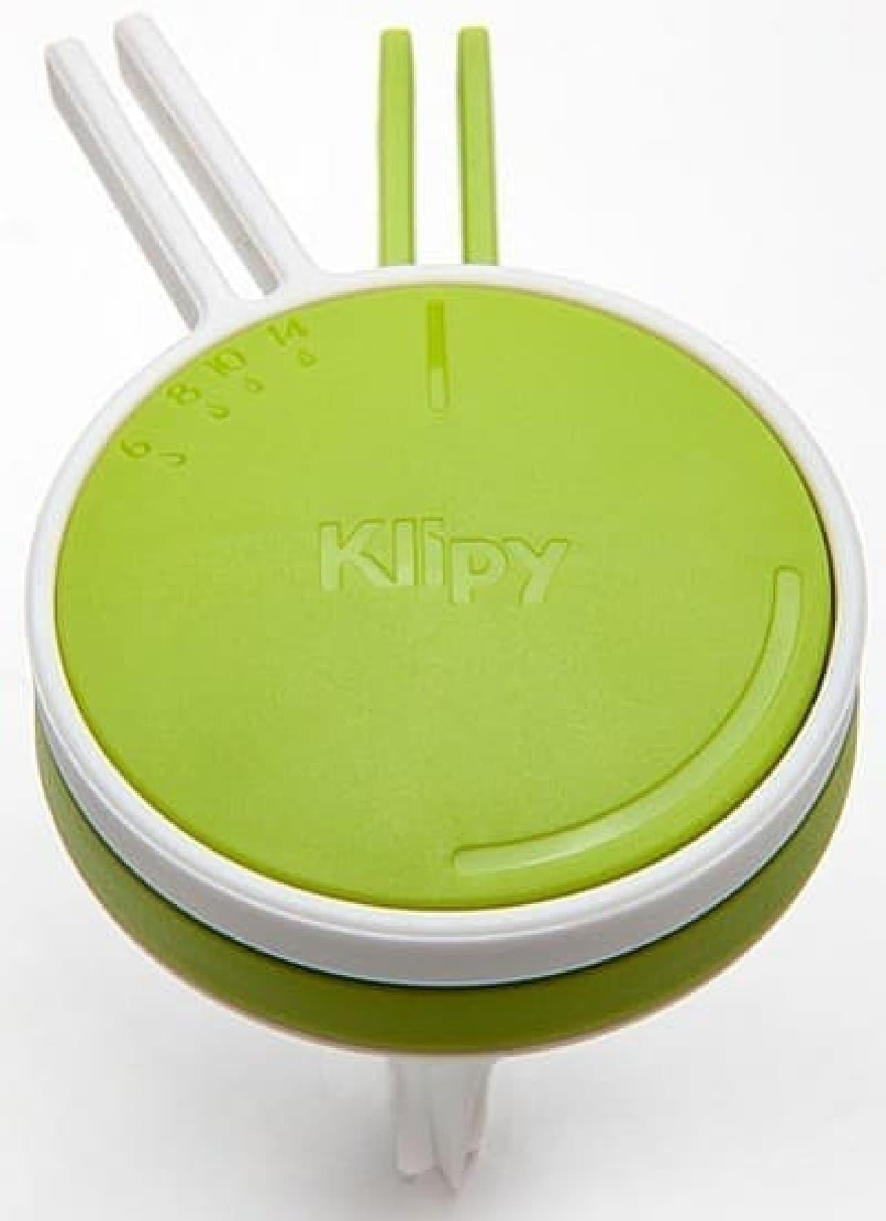 Klipy Cake Divider のカラーバリエーションは、ピンクとグリーンの2色  でも、注文時に色の指定はできないのだそうです