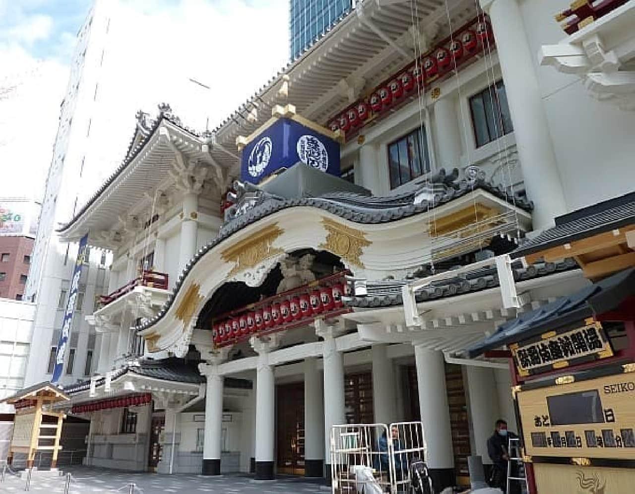 歌舞伎座新開場まで、あと7日!