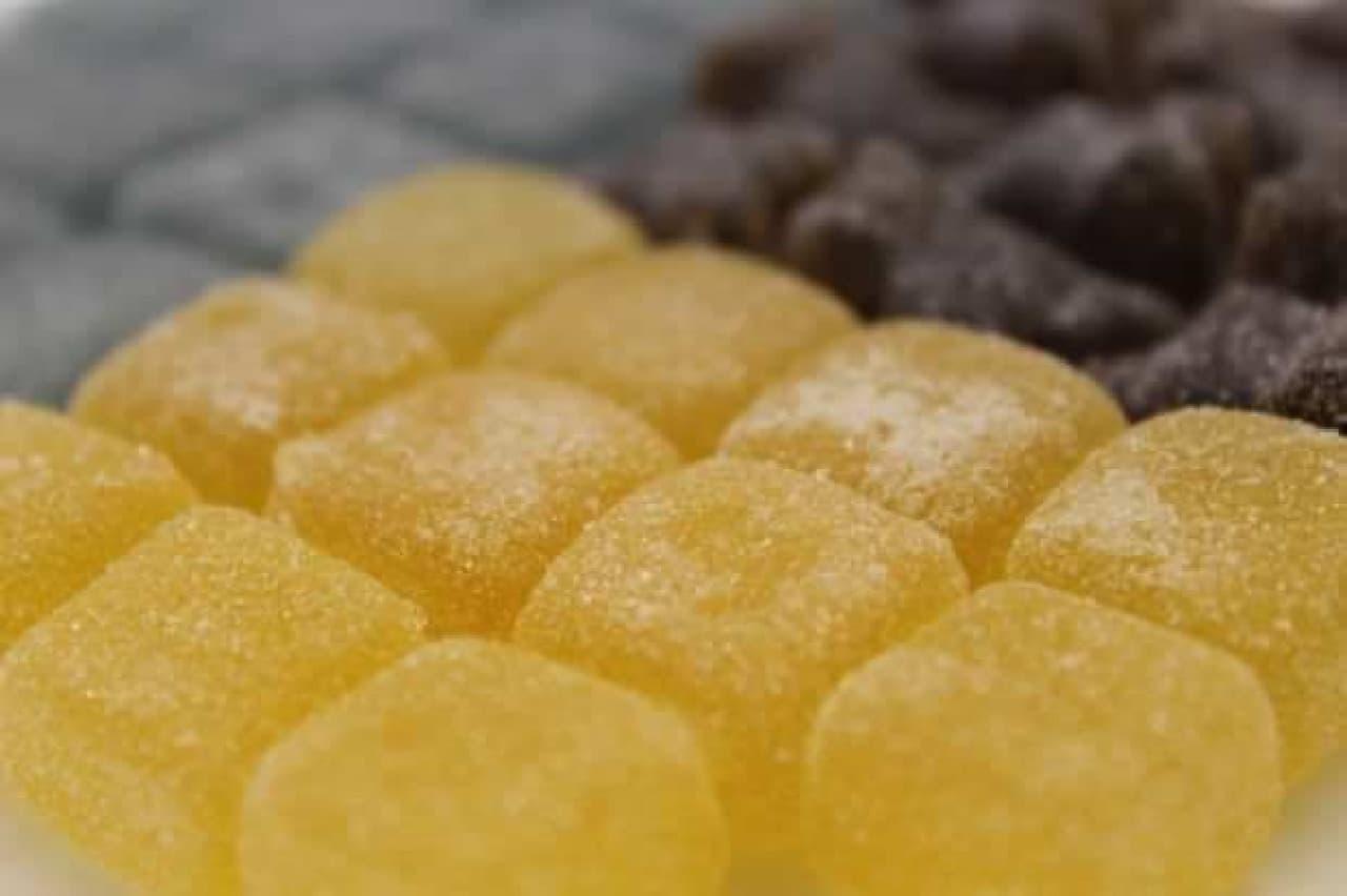 """ガチングミレモンスカッシュ味は数が少ない分""""厚い"""""""
