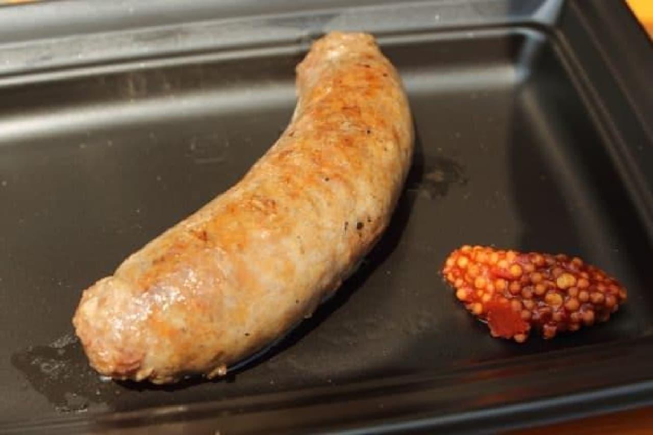 脂身が少なく、肉肉しい