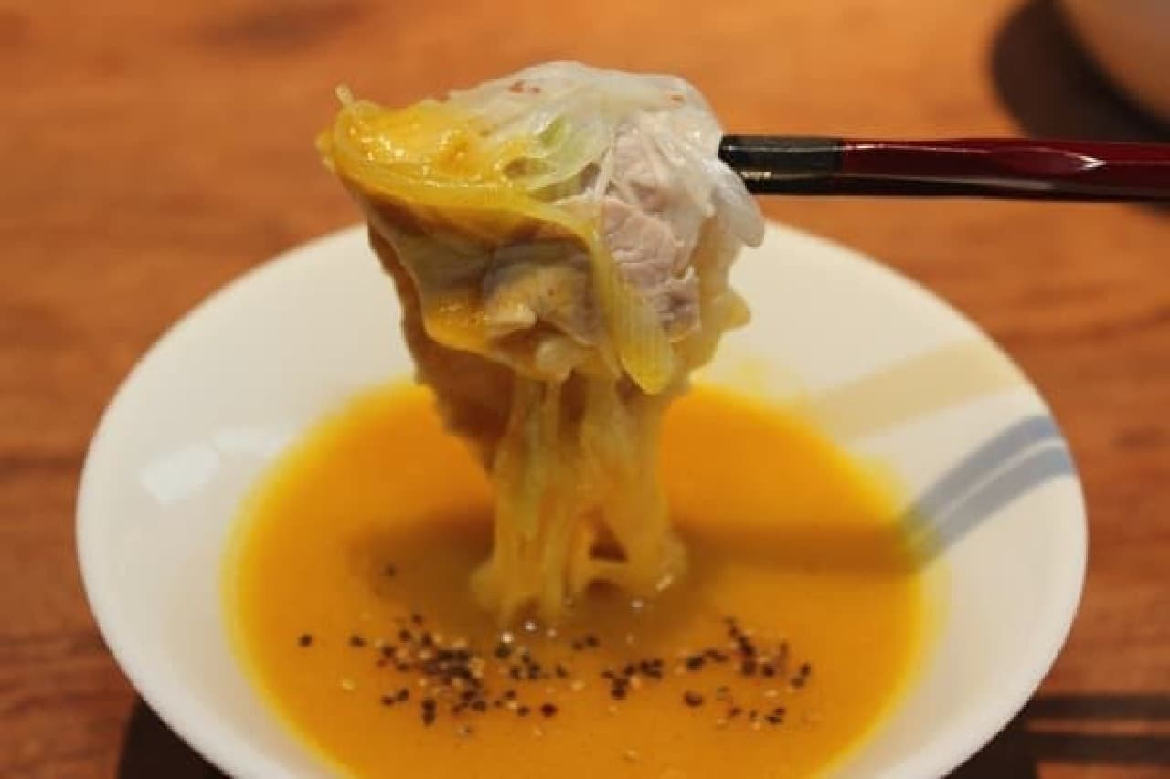マンゴーの甘みとビネガーの酸味が絶妙なバランス