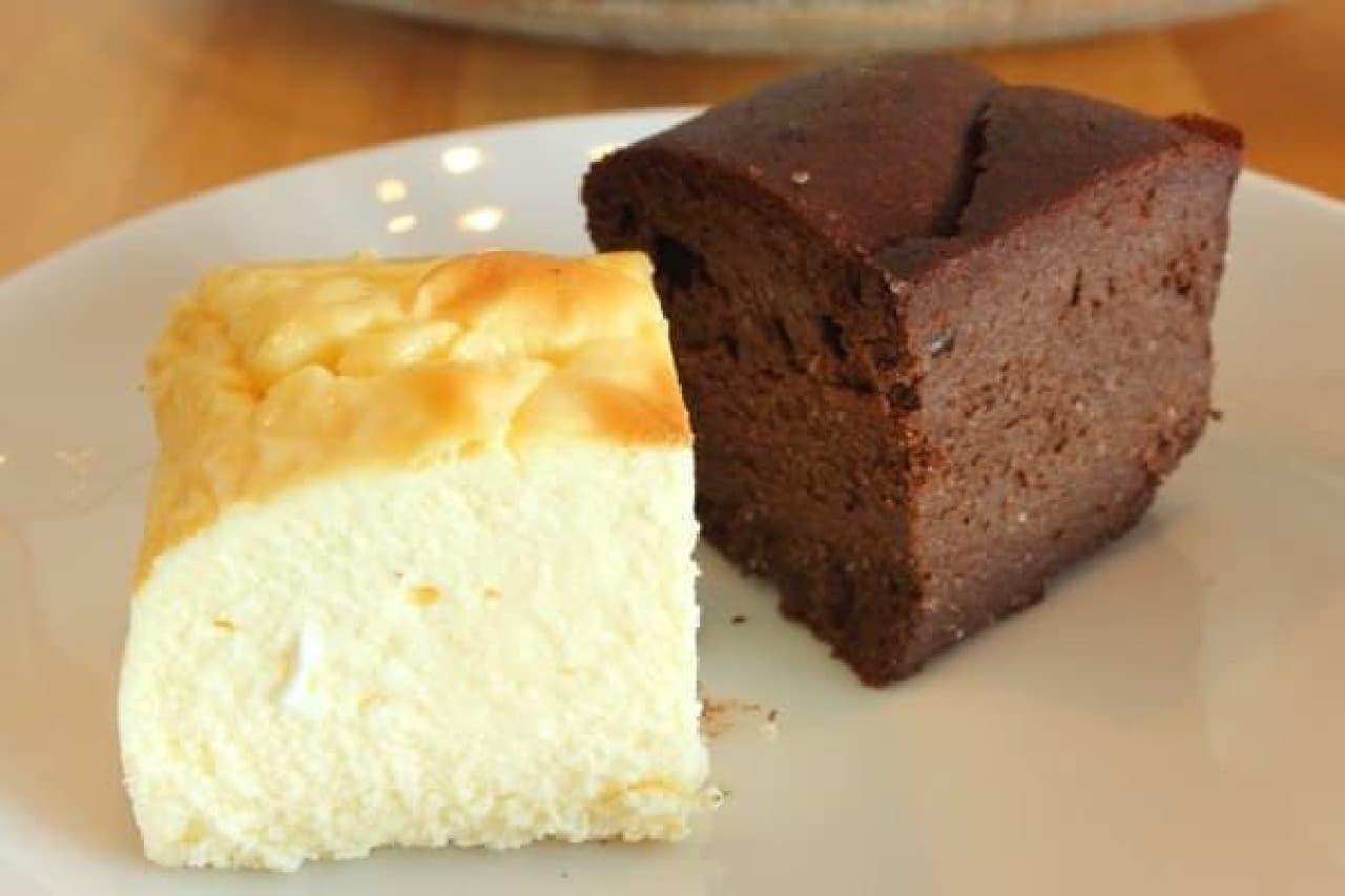 素材の味が引き立つケーキ