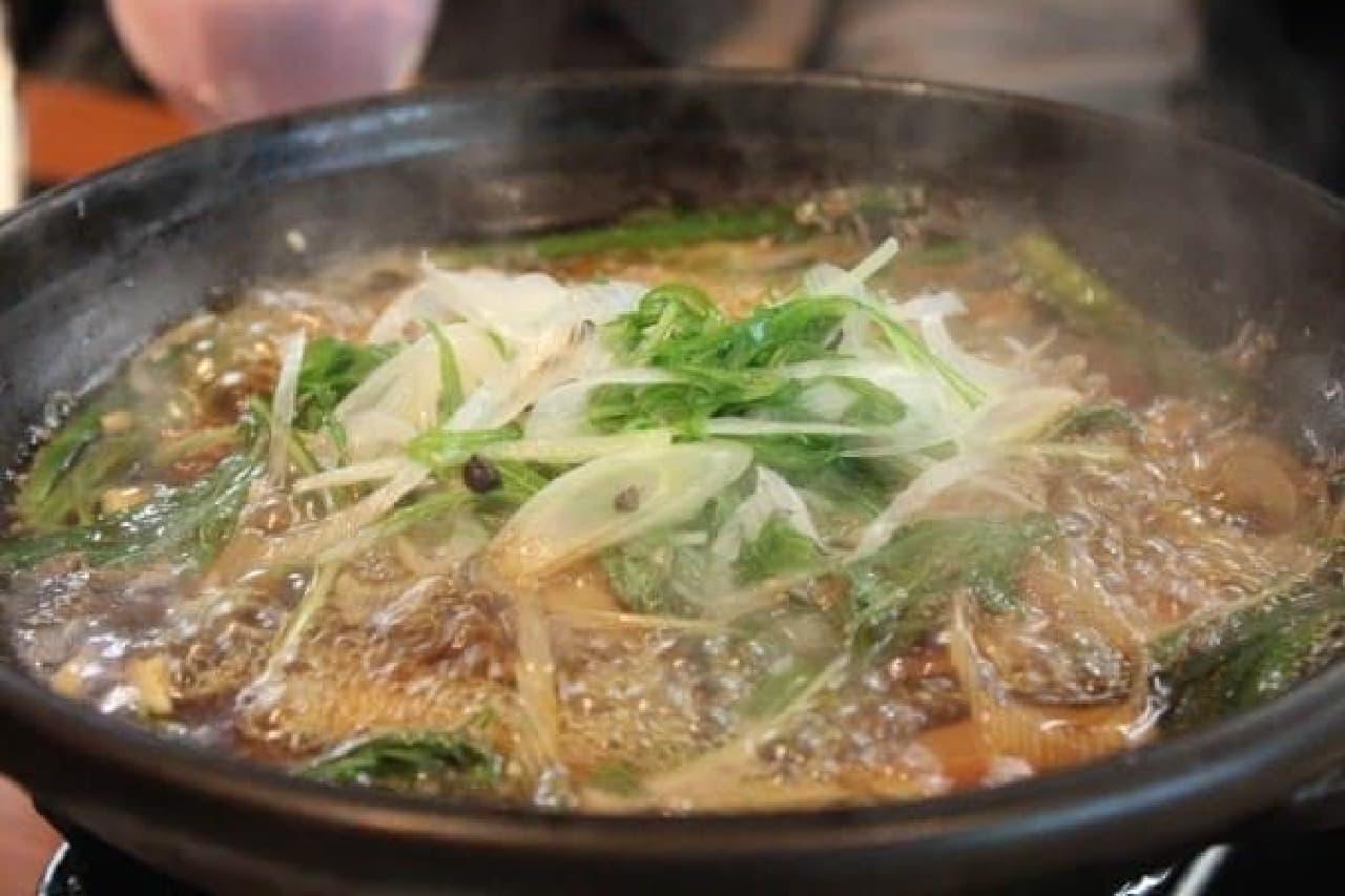 いちばん人気の「肉豆腐」