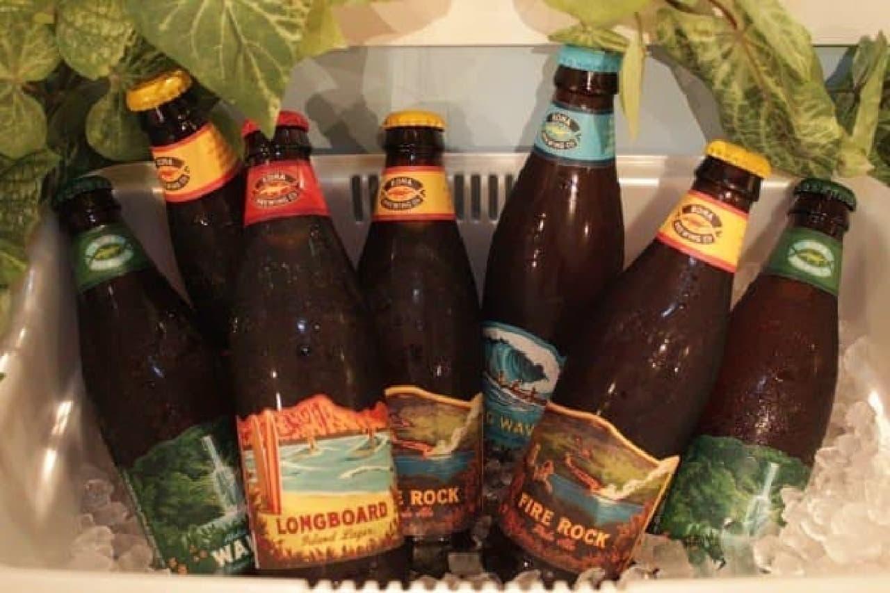ハワイの地ビールも楽しめる!