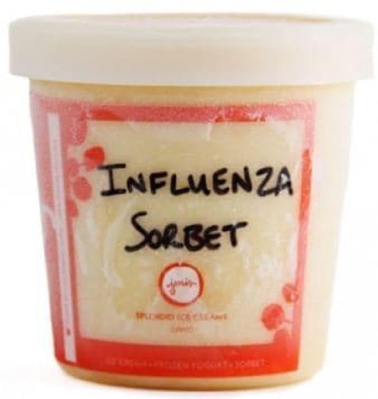 「Influenza Sorbet(インフルエンザシャーベット)」