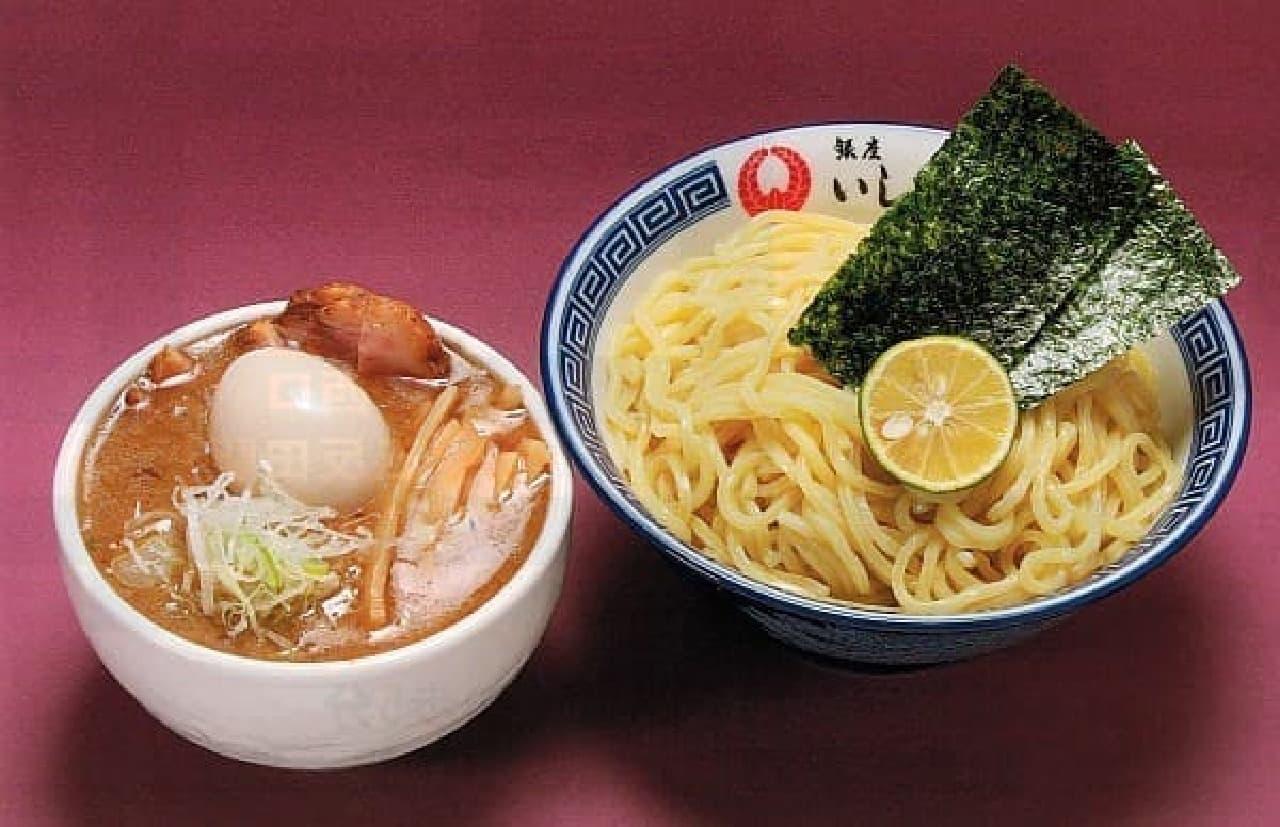 「銀座いし井」のつけ麺