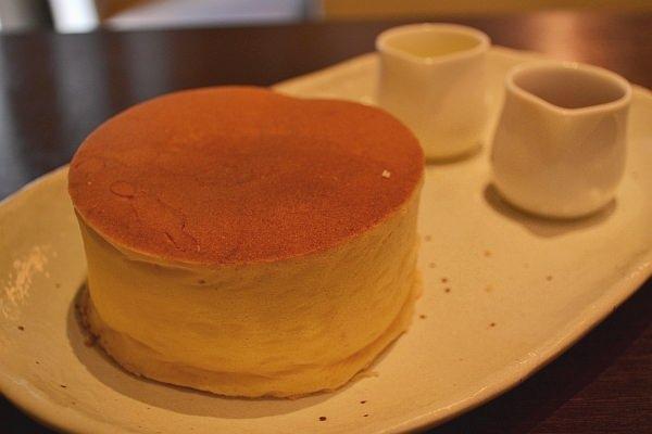 これがうわさのパンケーキ!