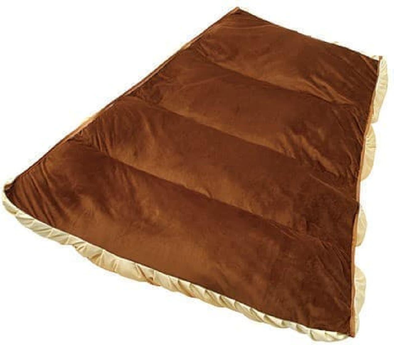 「ごろんとチョコゴロ寝」の内部