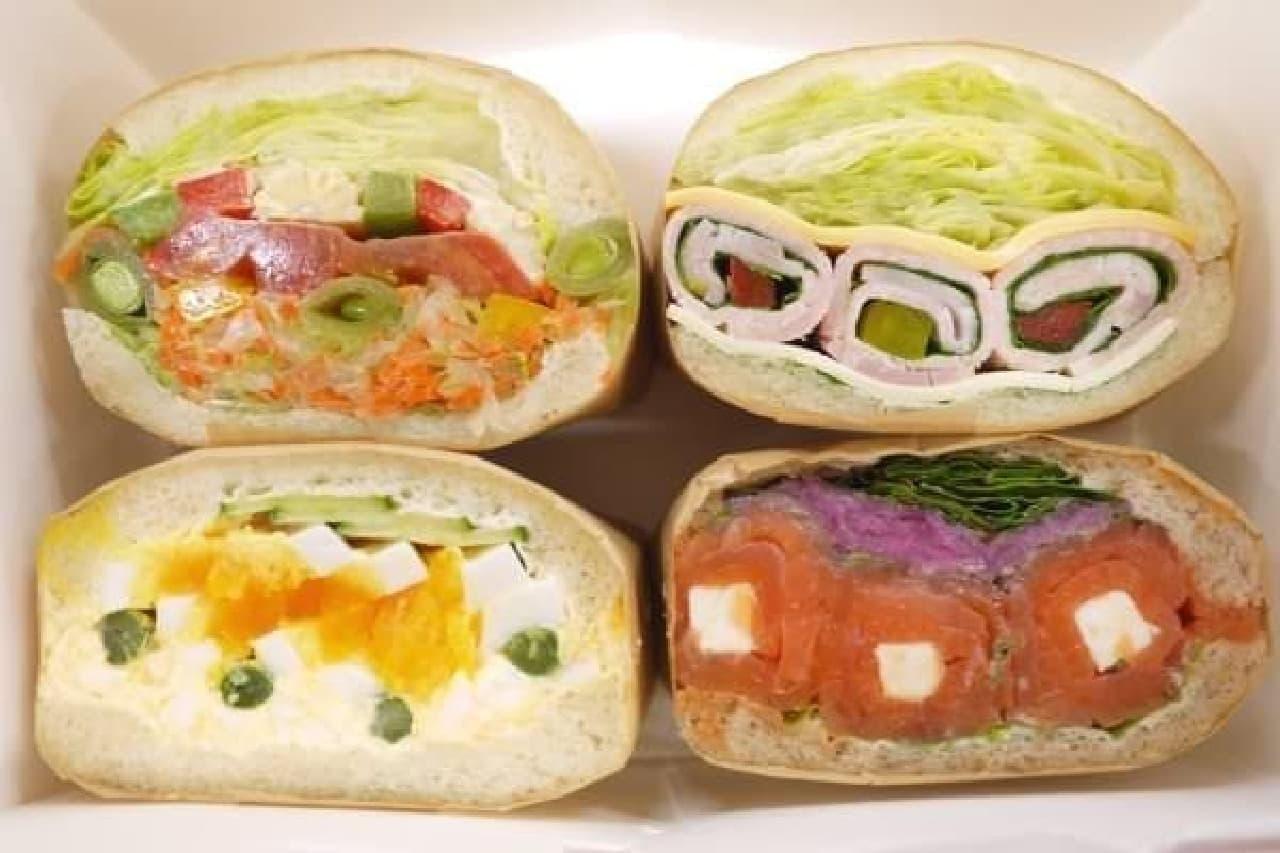 宝石みたいにオシャレなサンドイッチはいかが?