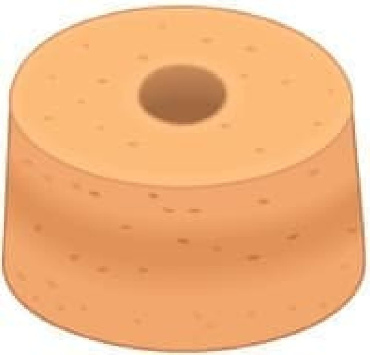 Klipy Cake Divider 最大の天敵、「シフォンケーキ」
