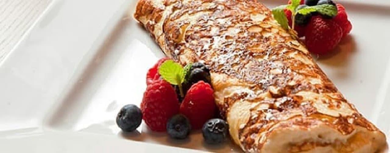 「レディース & ジェントルメン」の「チーズスフレパンケーキ」