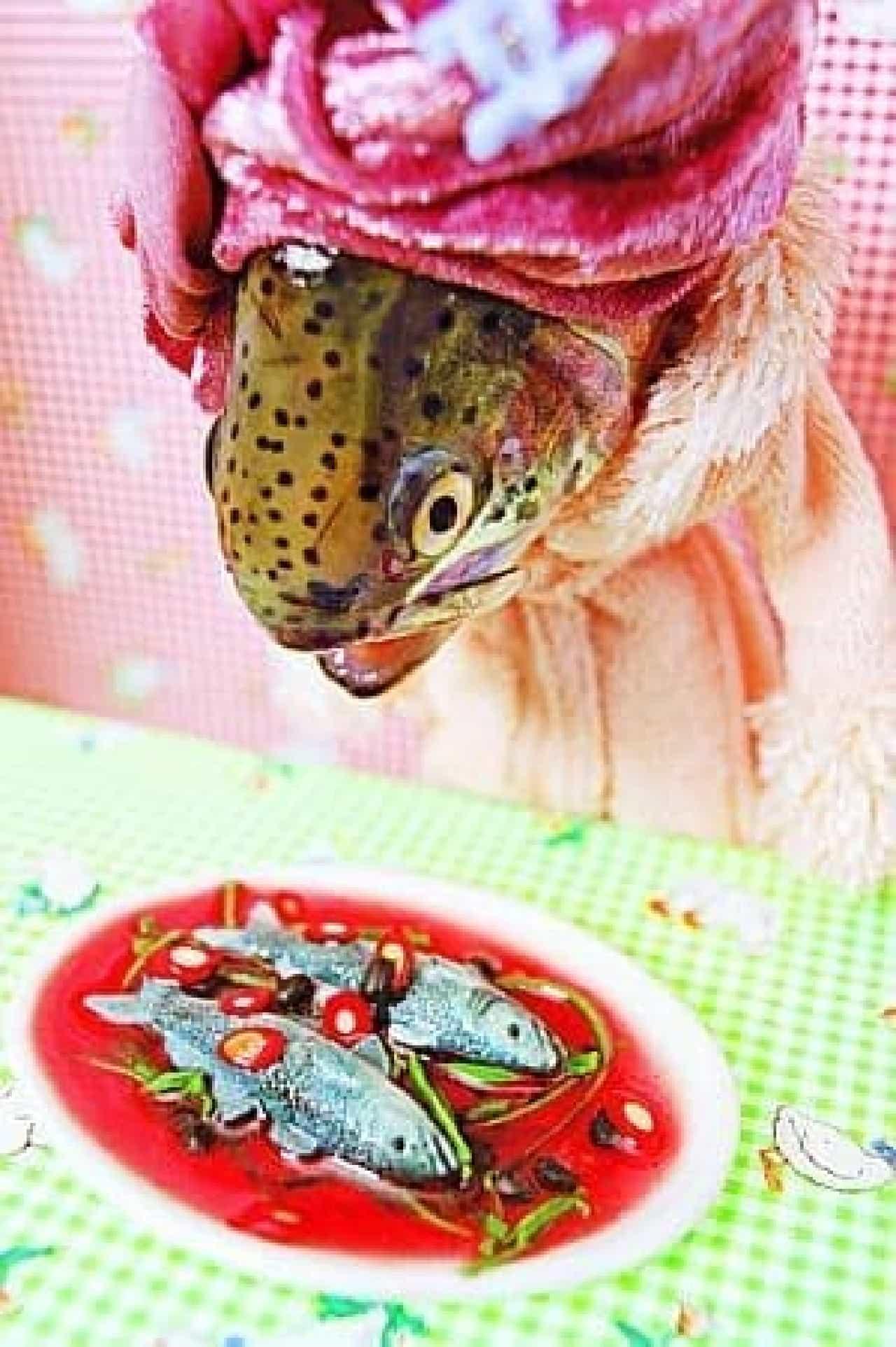 そしてこれは、魚を食べる魚  究極の、ブラック?