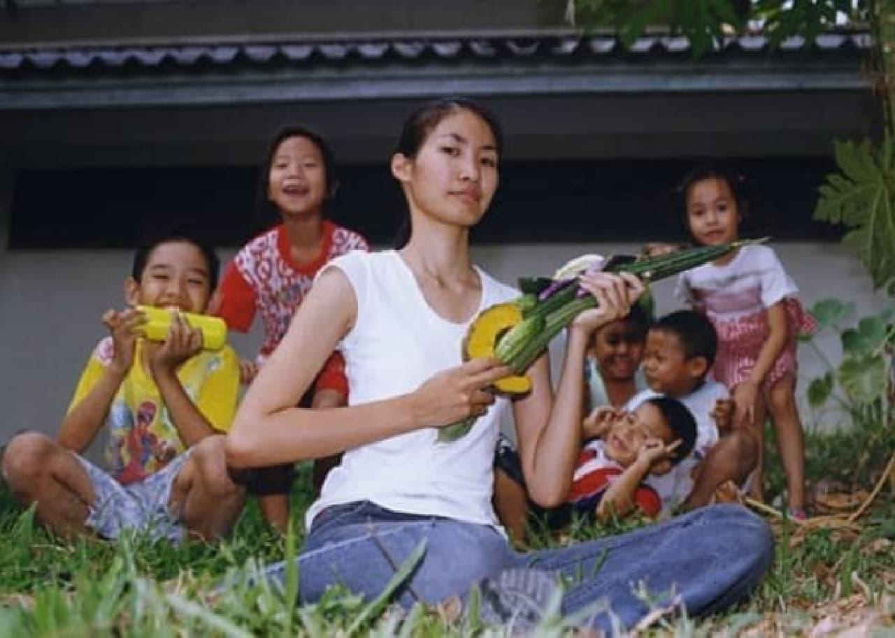 タイのナンプリを使った鍋料理の具材  引き金は「かぼちゃ」