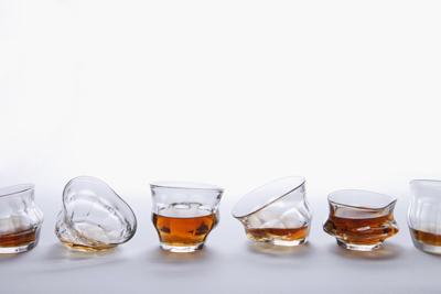 実際に送られてくるのはこんな感じの6個  グラスとして使えないものは含まれないそうです