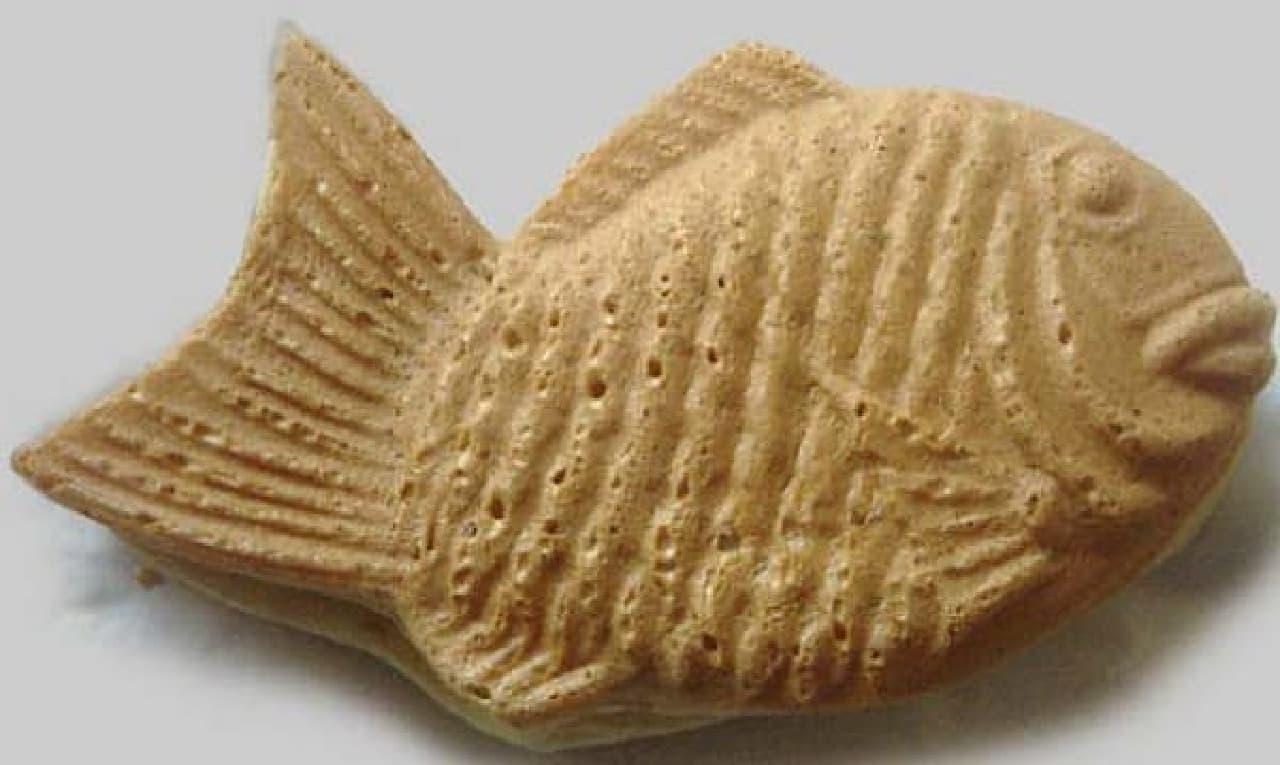 一般的なたい焼き(出典:Wikipedia)