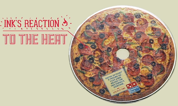 レンタルビデオ店とコラボしたキャンペーン「Domino's Pizza Disc Us」