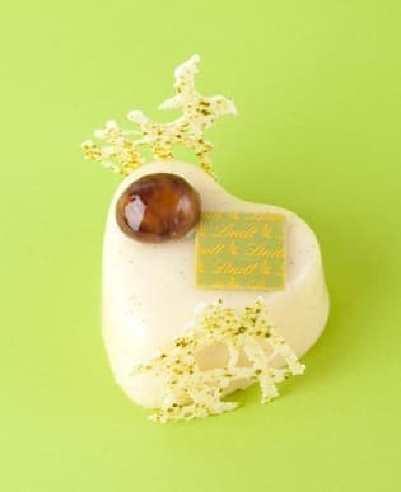 ホワイトデー限定のスペシャルケーキ「ル・クール・ブラン」