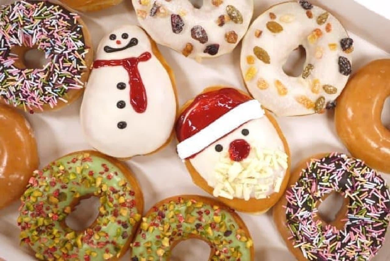 冬らしい「クリスマスドーナツ」たち