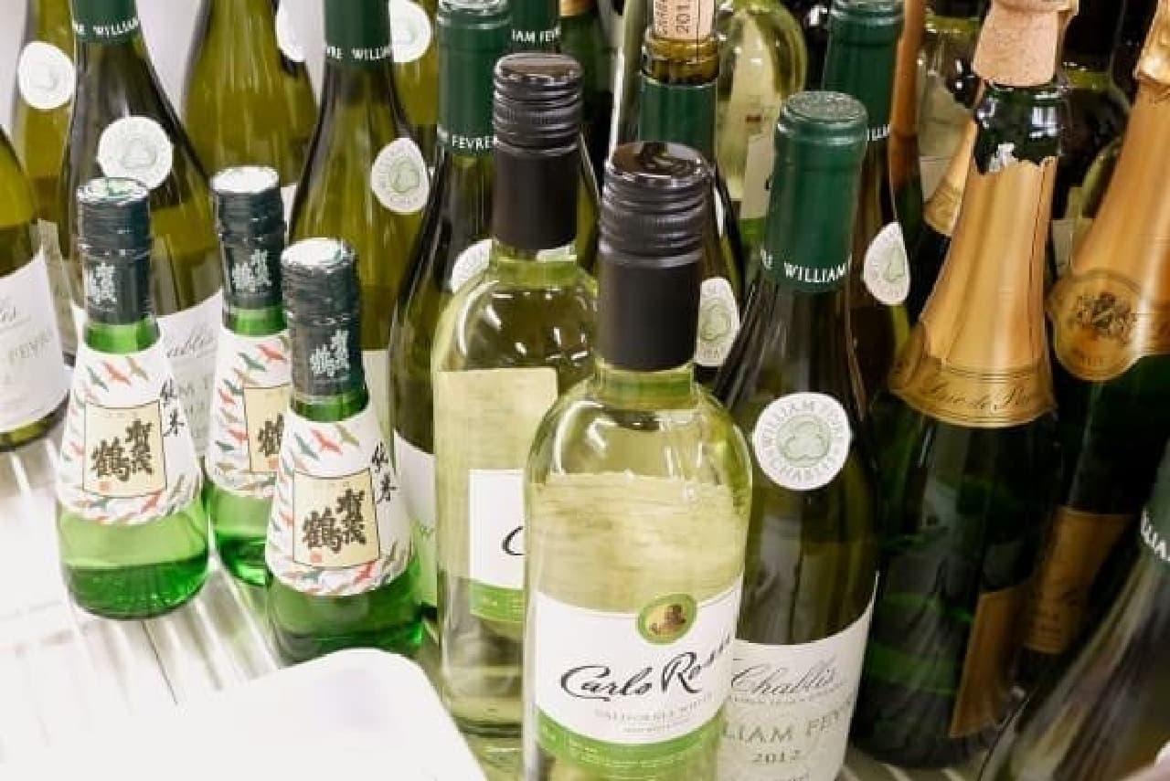 ワインと合わせるのもオススメ