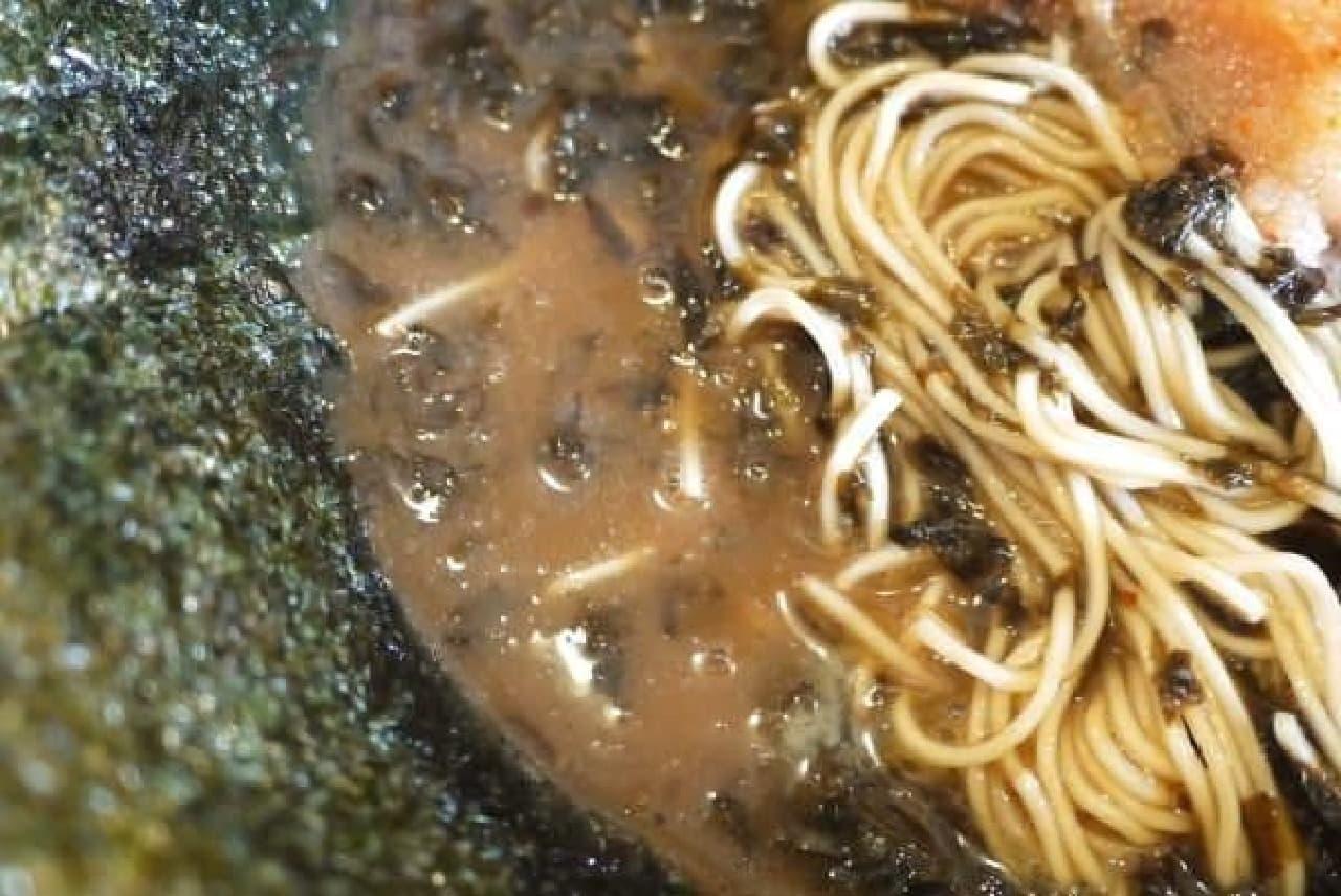 スープが黒いのだ